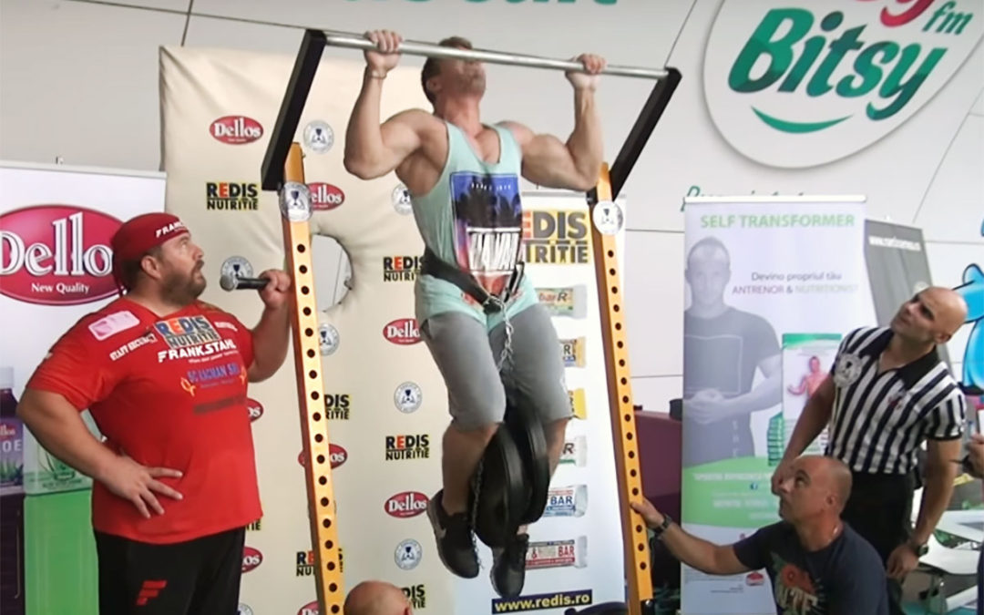 Mihai Antonio Ragea – tractiune cu 60 kg atasate