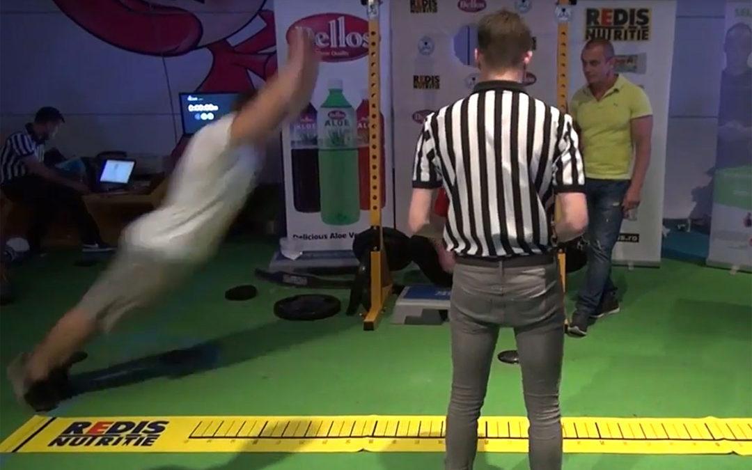 Mihai Antonio Ragea – 2,69 m la saritura in lungime de pe loc
