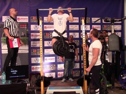 Rolland Todor – o tractiune cu 67,5 kg atasate