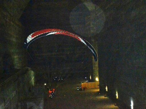 Zbor la 208 m adancime in subteran