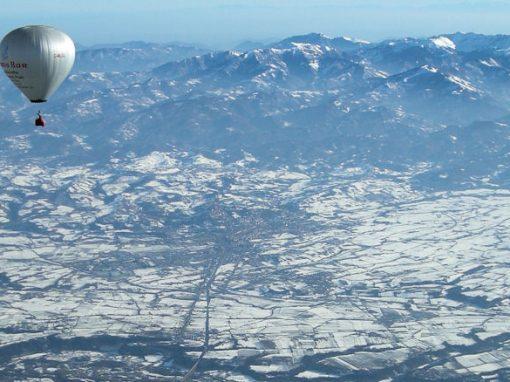 Mihai Ilie si Mugurel-Conta Ionescu – record de altitudine cu balonul, 11.063 m