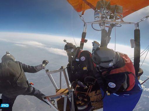 Gabriel Dan Chiriac – salt cu parasuta de la 10.435 m