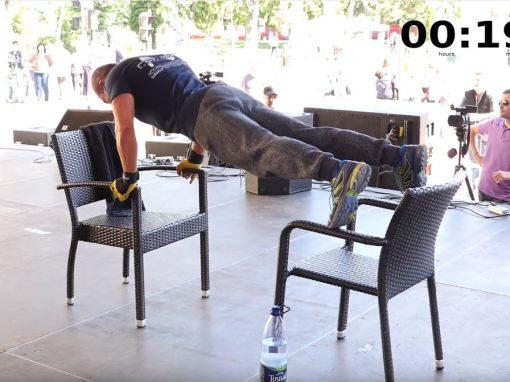 Dan Stanescu – 1300 flotari pe scaune