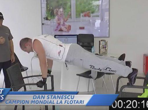 Dan Stanescu – 1500 de flotari pe scaune in cel mai scurt timp – 53min:35s