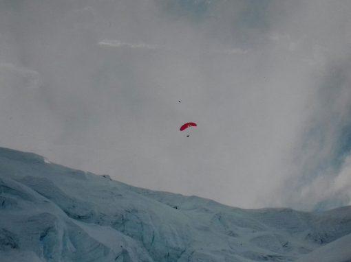 Teodor Tulpan – decolare și zbor cu parapanta de pe Muntele Everest