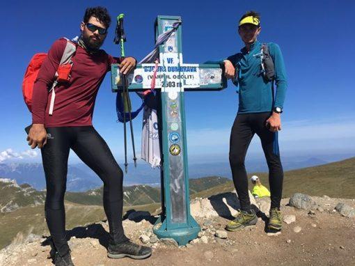 Sebastian Nechifor si Tiberiu Popa – 14 varfuri de peste 2.500 m in 76 ore si 27 minute