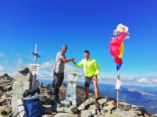 Gabriel Andrei Ailenei si Eduard Ciprian-Gabor – 14 varfuri de peste 2500 m pe jos – 11 zile